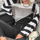 Myla Striped Sweater - Boho 70