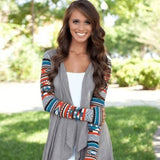 Mayan Princess Top (Gray) - Boho 70