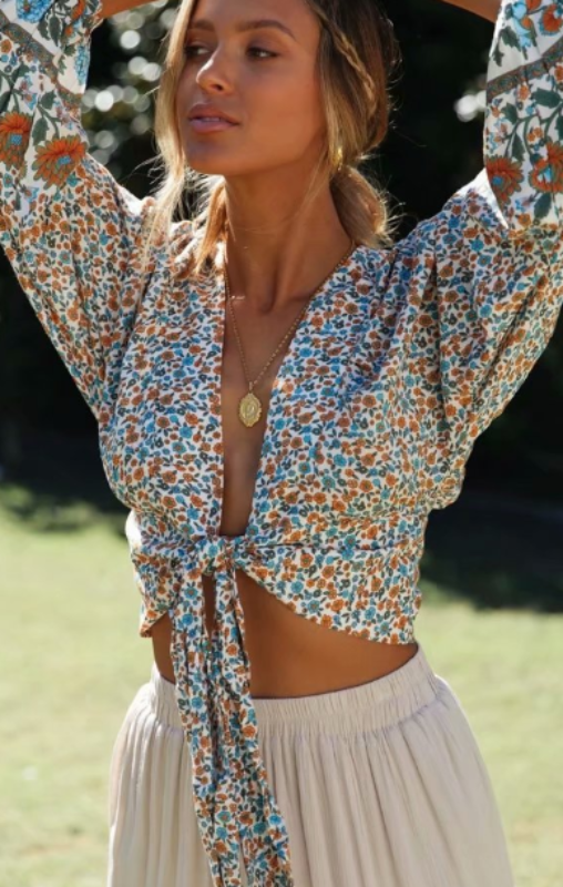 Ingrid Printed Top