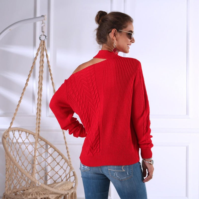 Amelia Off-shoulder Pullover