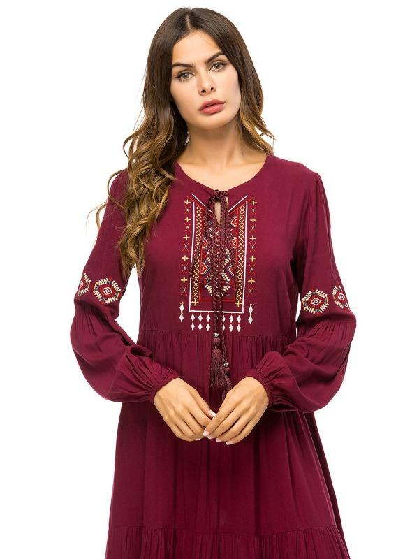 Camilla Embroidered Dress