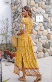 Ariah Yellow Dress