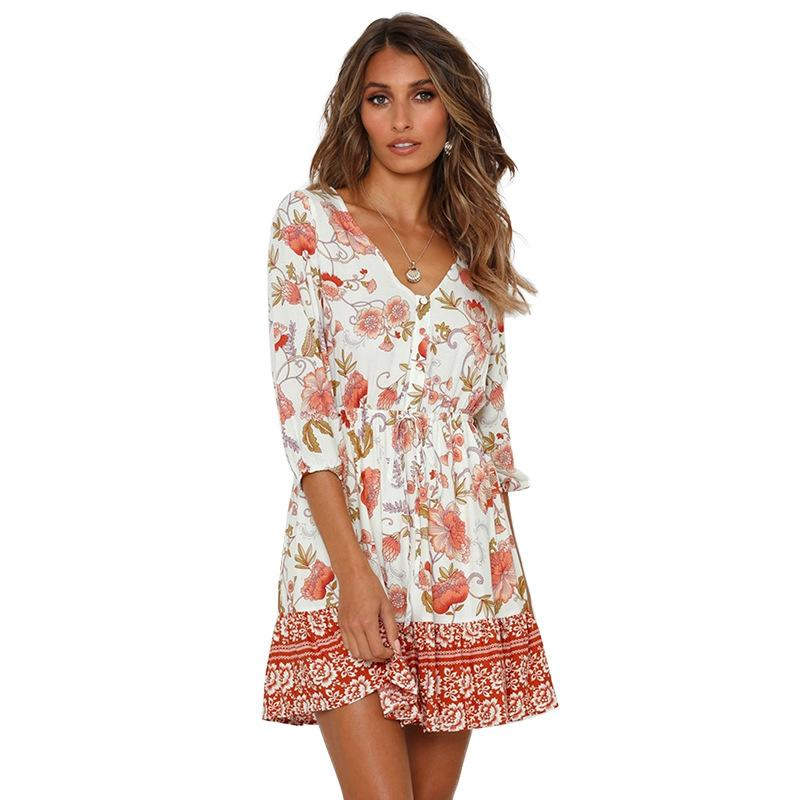 Cassidy Floral Dress