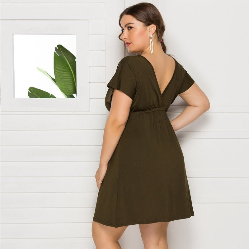Kyline V-neck Dress