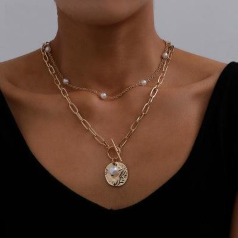 Pearl Double Necklace