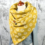 Ashley Yellow Turban Scarf