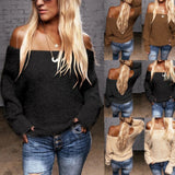 Nala Off-Shoulder Pullover