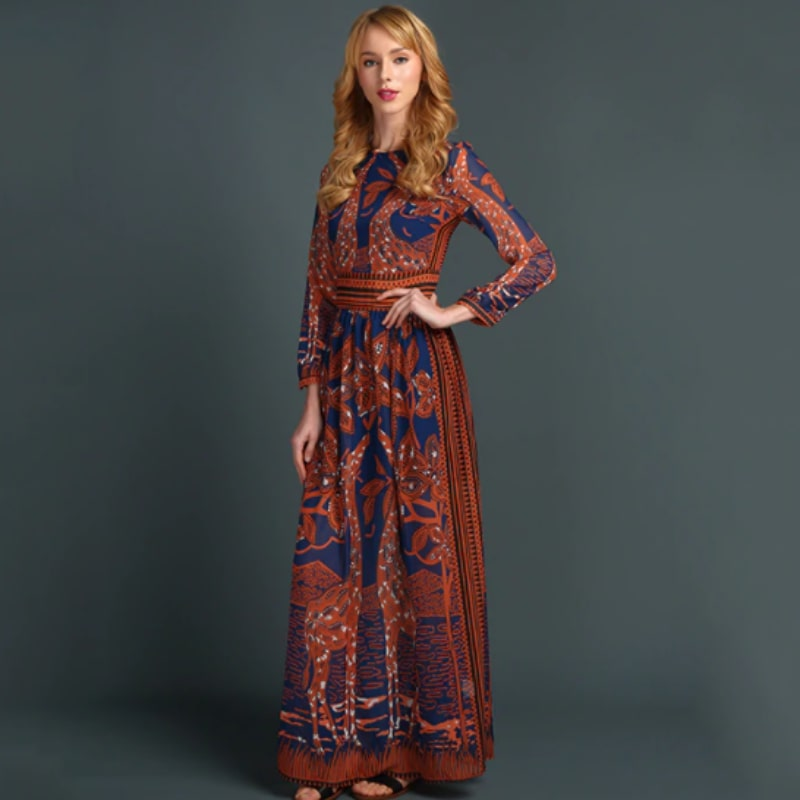 Gianna Long Dress