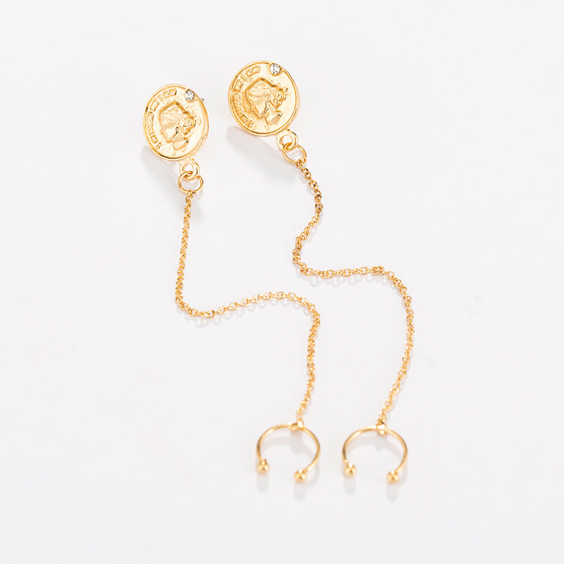 Vintage Coin Earrings