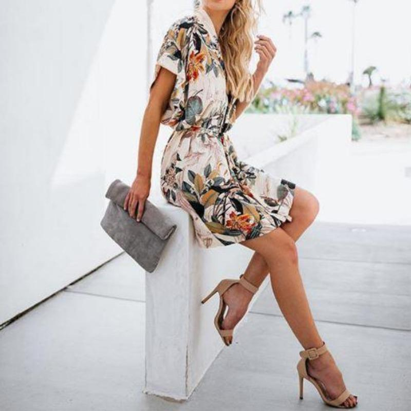 Alicia Wrap Dress