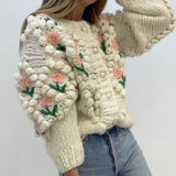 Tracy Floral Sweater