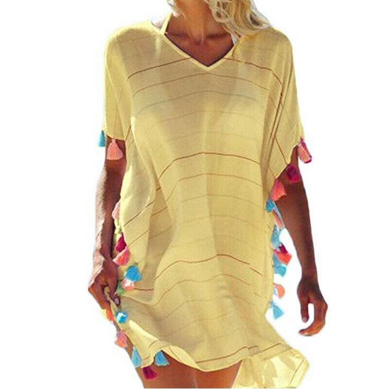 Jasmine Striped Cover-up