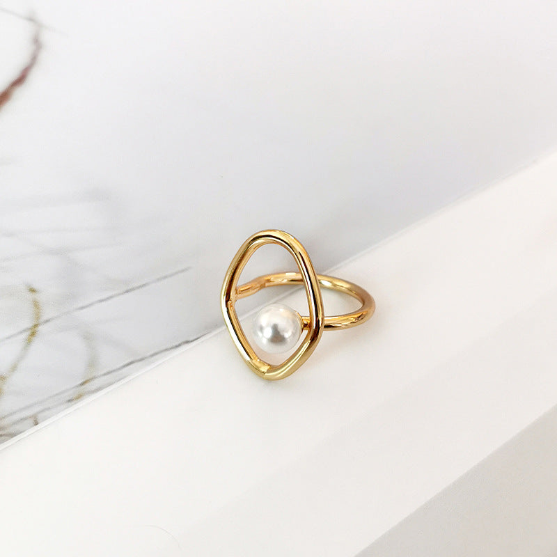 Adeline Pearl Ring