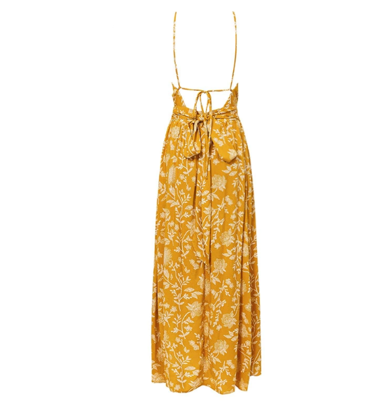 Indian Summer Dress - Boho 70