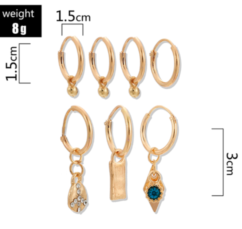 Darrie Drop Earrings