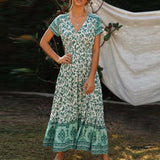 Amaris Green Dress