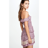 Mulberry Floral Dress