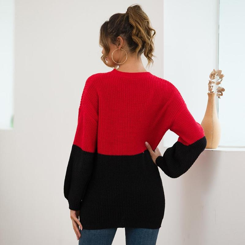Maisie Double Color Pullover