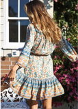 Missy Mini Dress - Boho 70