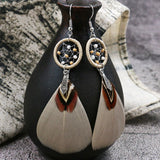 Avery Feather Earrings