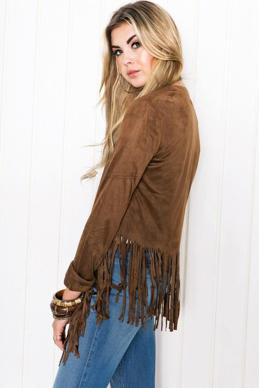 Monica Tassel Jacket