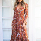 Holly Maxi Dress - Boho 70