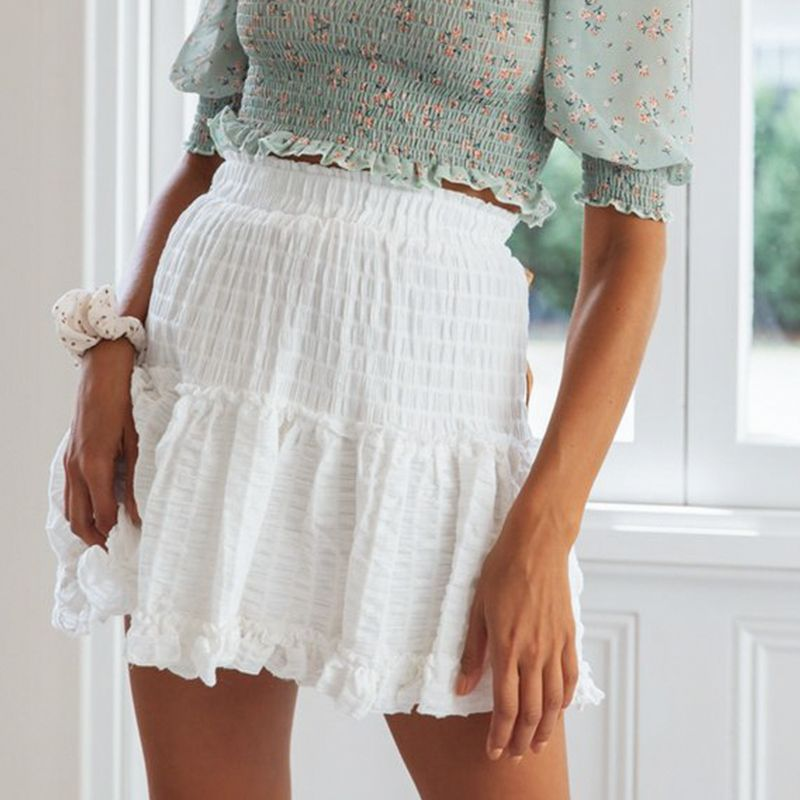 Maureen White Skirt