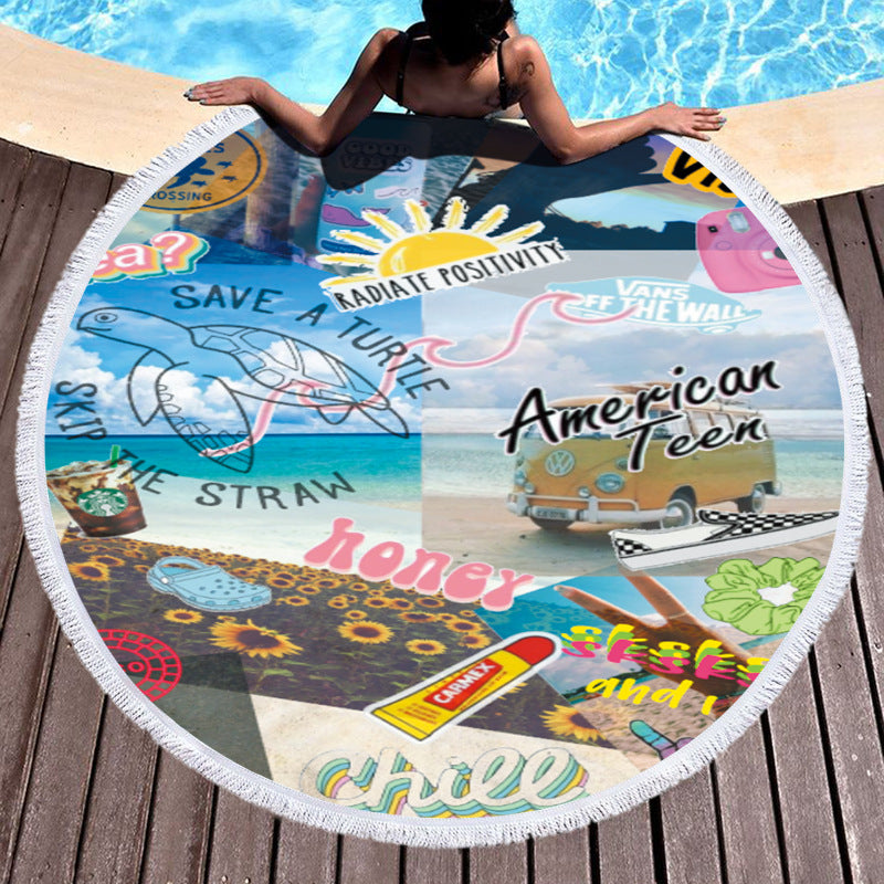 Nikita Beach Towels