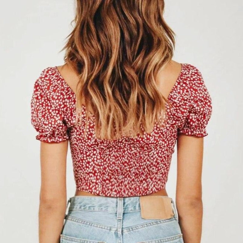 Elodie Crop-top