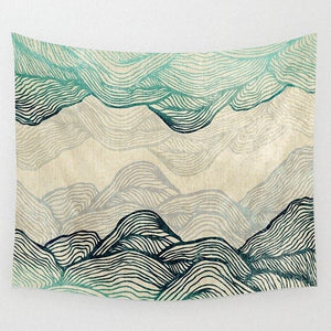 Dreamland Mountains Tapestry
