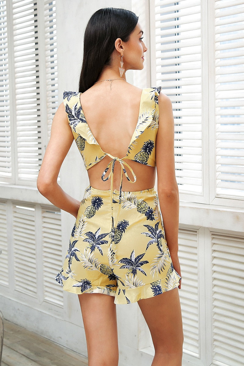 Sexy Savannah Playsuit - Boho 70