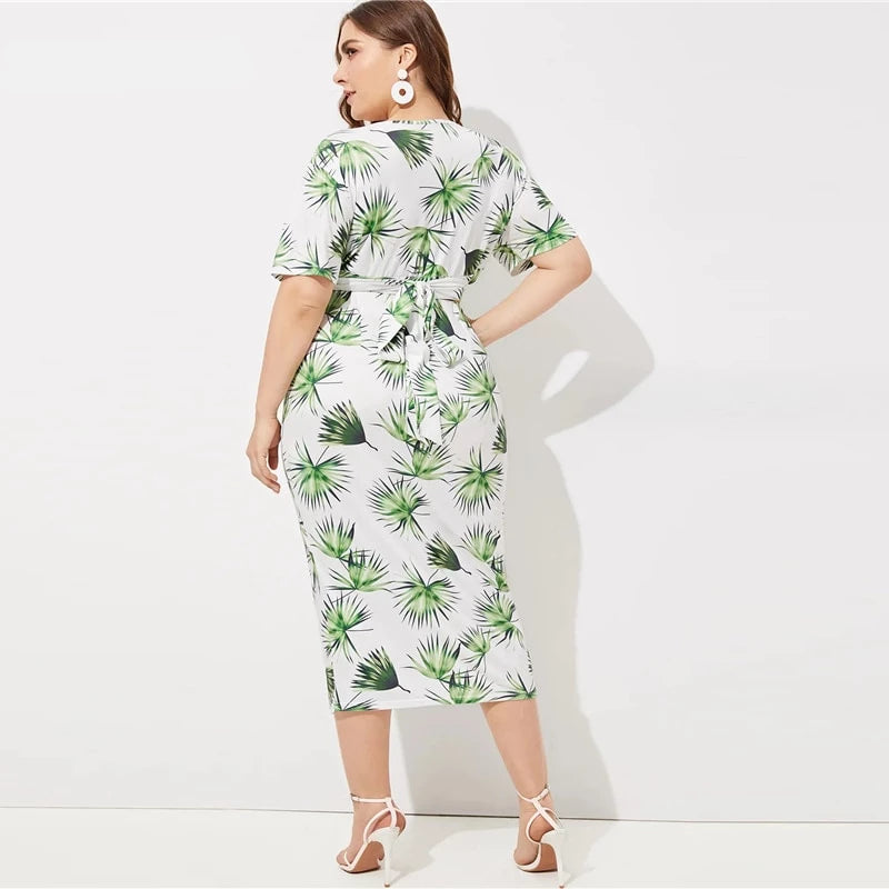 Procida Tropical Leaves - Boho 70