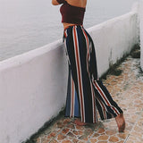 Gaia Striped Trousers - Boho 70