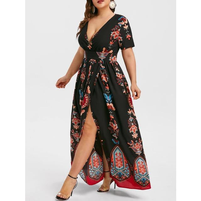 Red-winged Maxi - Boho 70