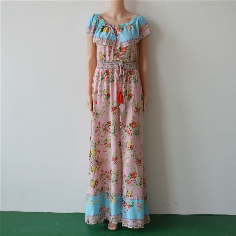 Aya Sofia Maxi Dress - Boho 70
