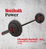 "Langhantel-Set ""Olympia"" 127 kg Men's Health"