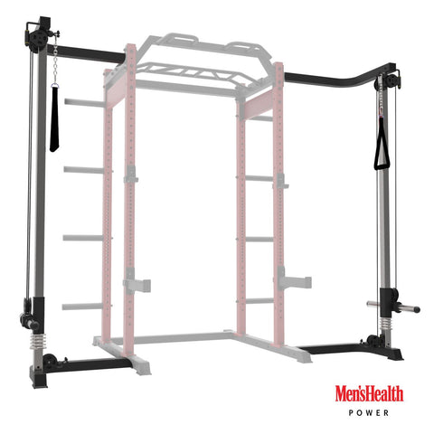 Kabelzugstation für Men's Health Power Rack (cable-system)