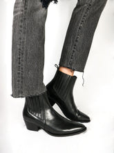 Load image into Gallery viewer, ANKLE BOOTS | LMTHERESA | BLACK | SIZE 41-47