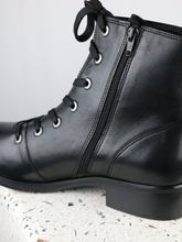 Load image into Gallery viewer, ANKLE BOOTS | LMKAREN | BLACK | SIZE 41-47