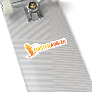 Master Angler Sticker Long - Orange