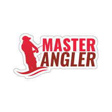 Load image into Gallery viewer, Master Angler Sticker - Red