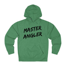 Load image into Gallery viewer, Master Angler Slash Unisex Terry Hoodie - Black