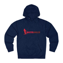 Load image into Gallery viewer, Master Angler Unisex Terry Hoodie Red Long Logo