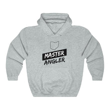 Load image into Gallery viewer, Ohio Master Angler Unisex Heavy Blend™ Hooded Sweatshirt - Slash Black