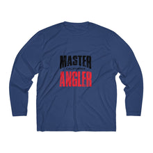Load image into Gallery viewer, California Master Angler Men's Long Sleeve Moisture Absorbing Tee - Red Sqr