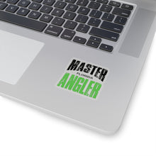Load image into Gallery viewer, Florida Master Angler Sticker - GREEN