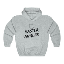 Load image into Gallery viewer, Ohio Master Angler Unisex Heavy Blend™ Hooded Sweatshirt -  State Black