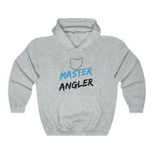 Load image into Gallery viewer, Ohio Master Angler Unisex Heavy Blend™ Hooded Sweatshirt -  State Blue