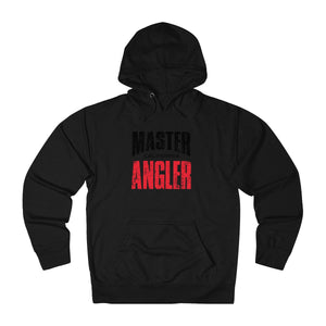 California Master Angler Unisex Terry Hoodie Red Sq