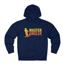 Load image into Gallery viewer, Master Angler Unisex Terry Hoodie Orange Logo